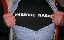 HASERRE NAGO !! KAMISETA